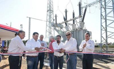 Gobierno inaugura subestación que beneficiará a 140.000 pobladores en San Pedro