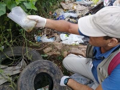 Gran cantidad de criaderos de mosquitos en Pilar