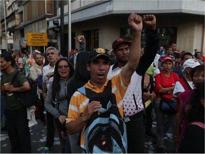 Muere una persona durante las protestas en Venezuela, según ONG