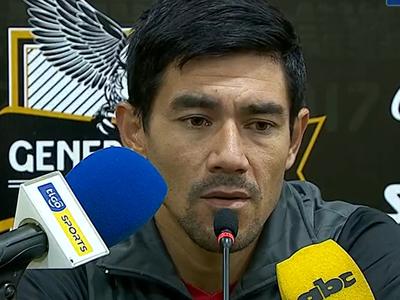 Palabras del entrenador de General Díaz, Cristian Martínez