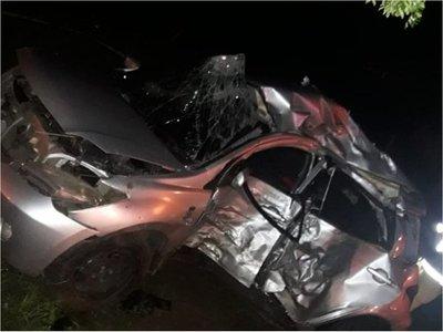 Accidente de tránsito deja cuatro fallecidos y una mujer herida