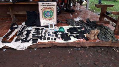 Amambay: 6 delincuentes son abatidos tras operativo