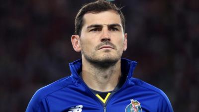Iker Casillas, ingresado tras sufrir un infarto en el entrenamiento del Oporto