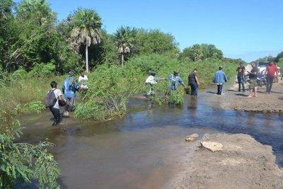 Lluvias empeoran crisis en Alto Paraguay