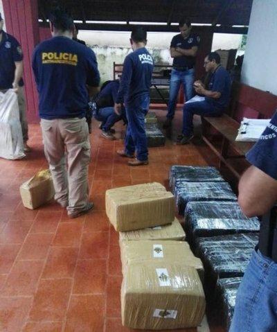 Incautan más de 300 kilos de marihuana en Yby Pytã