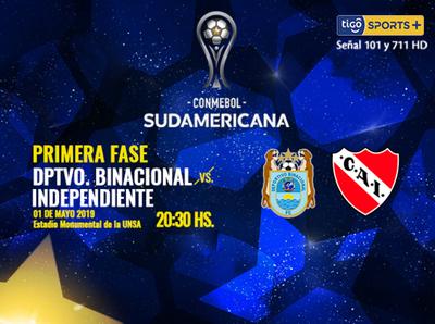 Independiente tiene todo para avanzar