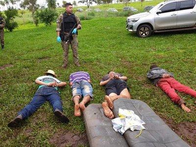 El operativo en Amambay desarticuló al grupo delictivo del Comando Vermelho