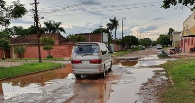 Las calles de Concepción ya son trampas mortales