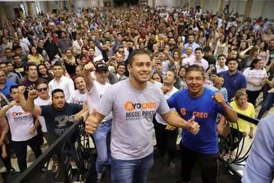 Candidatos opositores de CDE descartan descabalgar para comicios de este domingo