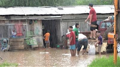 Inundaciones nuevamente deja en jaque a comunidades del Chaco