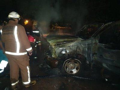 Sospechan de incendio provocado en Concepción