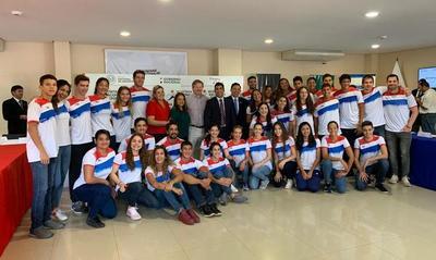 SND entregó tarjetas con beneficios a embajadores deportistas del Paraguay