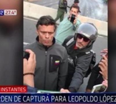 Tribunal de régimen de Maduro ordena capturar a Leopoldo López