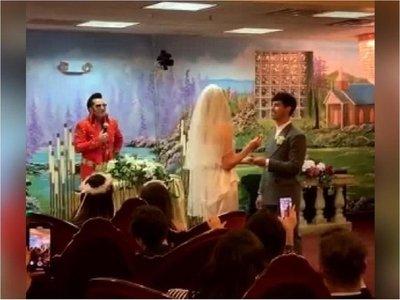 Sophie Turner y Joe Jonas se casaron en Las Vegas