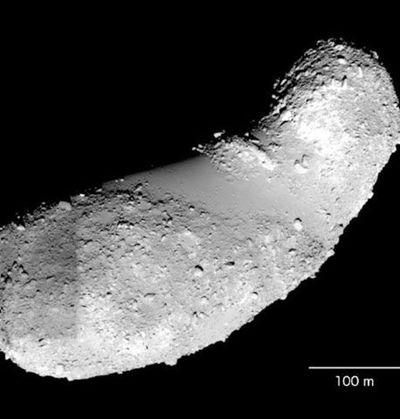 Agua en un asteroide