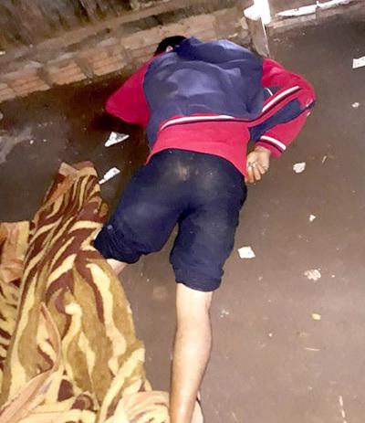 Joven es asesinado a machetazos por su amigo durante ronda de tragos