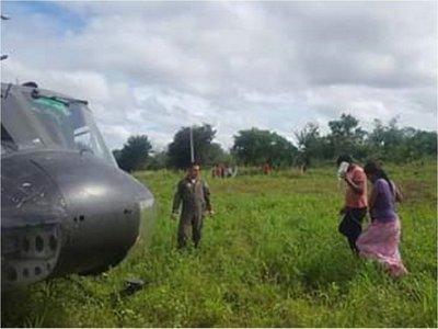 Asistencia aérea es la única vía en lugares aislados del Chaco