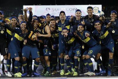 Con Junior Alonso, Boca es campeón de la Supercopa Argentina