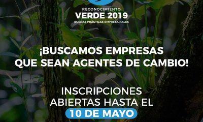 Inscripciones siguen abiertas: Reconocerán proyectos ambientales de empresas