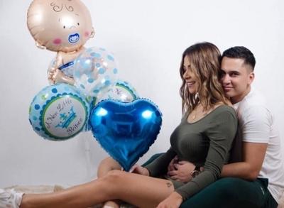 "Male González confirmó embarazo: ""Estoy completa"""