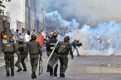 Venezuela: ONU elevó a cinco los muertos por la represión