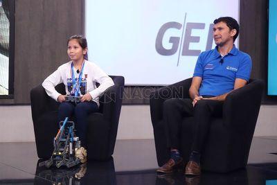 Arambé de destacó en Mundial de Robótica en EE.UU.