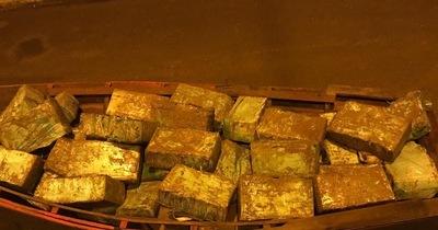 Federales requisaron 800 kilos de marihuana