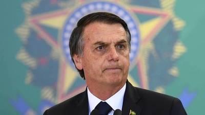 Bolsonaro canceló un viaje a Nueva York tras generar fuertes protestas