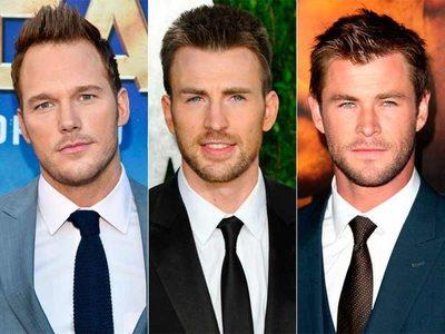 """Chris Evans se burla de Chris Hemsworth y Chris Pratt, argumentando que es """"el mejor Chris de los tres"""""""
