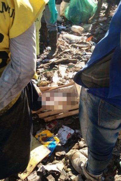 Encuentran bebé muerto en Cateura