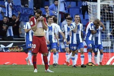 Atlético pierde 3-0 con Espanyol