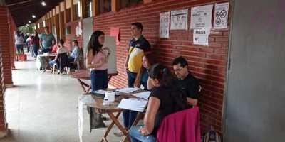 Inician elecciones en Ciudad del Este