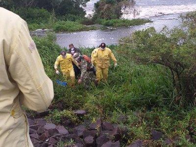 Hallan cuerpo de obrero en canal Aguapey