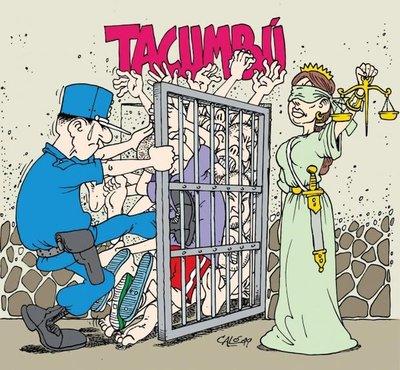 Tacumbú: Cada vez más apretados y sin poder ser readaptados
