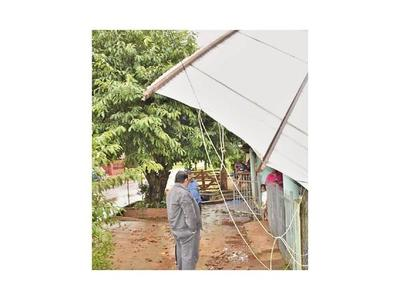 Varios distritos de Misiones  afectados tras la tormenta