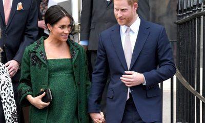 La Duquesa Meghan Markle dio a luz a un niño