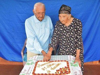Eduarda y Antolín,  81 años de puro amor