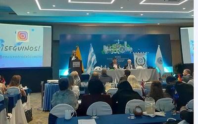 Titular de la DRA expuso en Ecuador