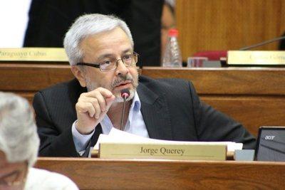 """Querey """"Hay elementos para la pérdida de investidura de Víctor Bogado"""""""