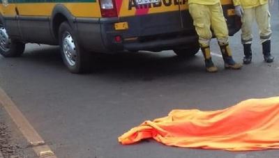 Embarazada muere tras ser arrollada en el este