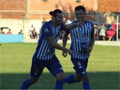 """Extraordinario gol del """"Lolo"""" Abente en la Intermedia"""