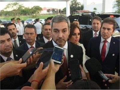 Abdo Benítez, disconforme con ejecución presupuestaria en ministerios