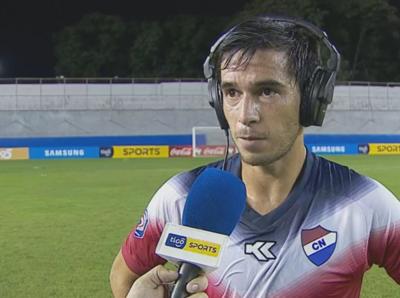 Marcos Duré cuenta los pormenores de la victoria de Nacional