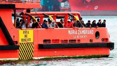 Más de 200 migrantes, rescatados en un día en aguas españolas