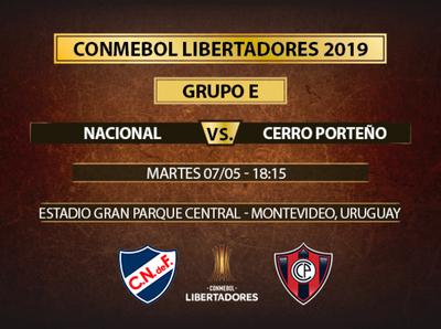 Cerro va por el primer puesto de su grupo