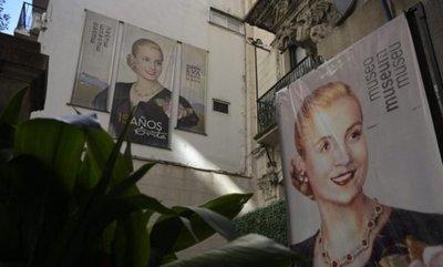 """Recuerdan a Evita, """"abanderada de los humildes"""", en su centenario"""