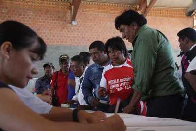 Tenonderã inició desembolso de G. 1.100 millones para familias indígenas del Chaco