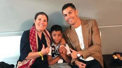 Redes sociales destacan blooper de la mamá de Cristiano Ronaldo · Radio Monumental 1080 AM