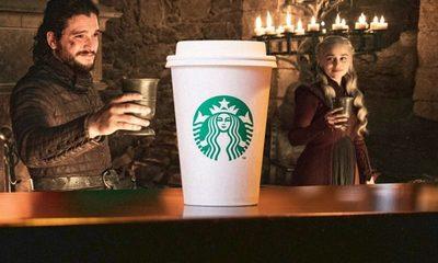 Starbucks obtuvo más de 2 mil millones de dólares en publicidad gratuita gracias a Game of Thrones