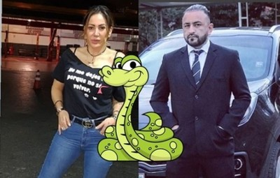Churero comparó a Ruth Alcaraz con una serpiente